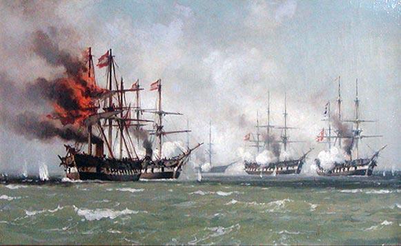 Vor 150 Jahren: Die zweite Seeschlacht bei Helgoland
