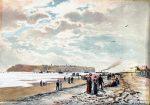 Neujahr 1721: Sturmflut zerstört Wall zwischen Düne und Insel