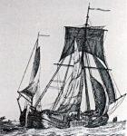 Erste registrierte Strandung im Jahre 1612